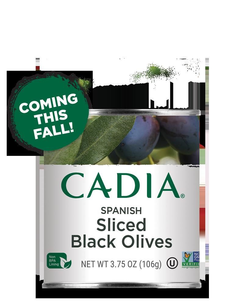 Sliced Black Olives Cadia